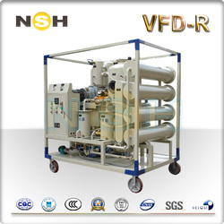 Double-Stage Vacuum Transformer Oil Regeneration