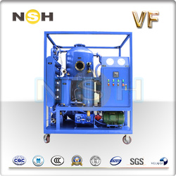 Single-Stage Vacuum Transformer Oil filtration