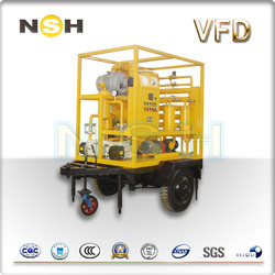 Double-Stage Vacuum Transformer Oil filtration